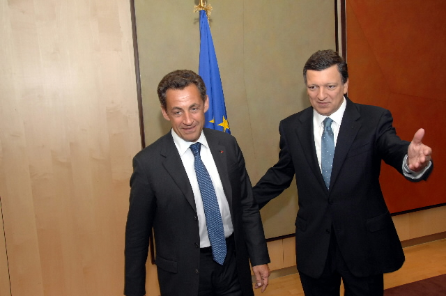 Visit by Nicolas Sarkozy, President of the French Republic, to the EC