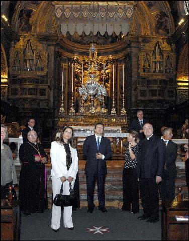 Visit by José Manuel Barroso, President of the EC, to Malta