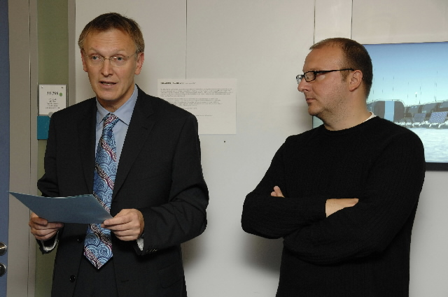 Inauguration by Janez Potocnik, Member of the EC, of the