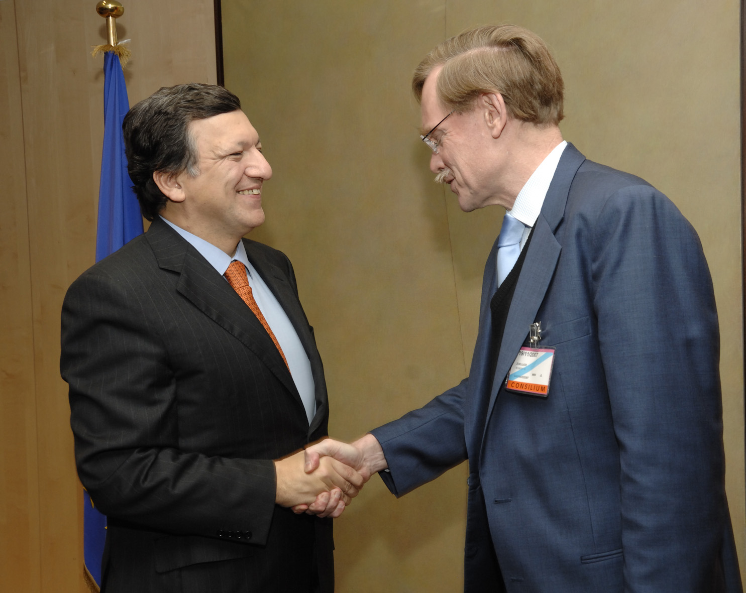 Visit by Robert Zoellick, President of the World Bank, to the EC