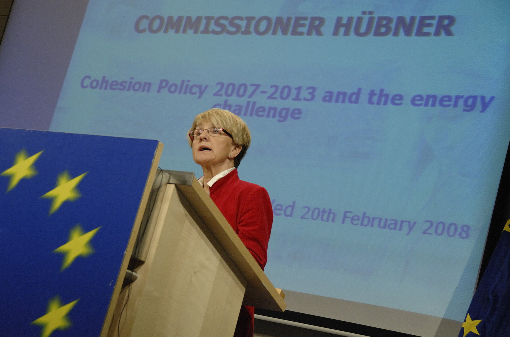 Press conference by Danuta Hübner, Member of the EC, on renewable energy and cohesion policy