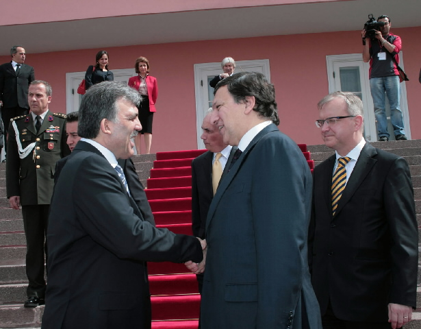 Visit by José Manuel Barroso, President of the EC, to Turkey