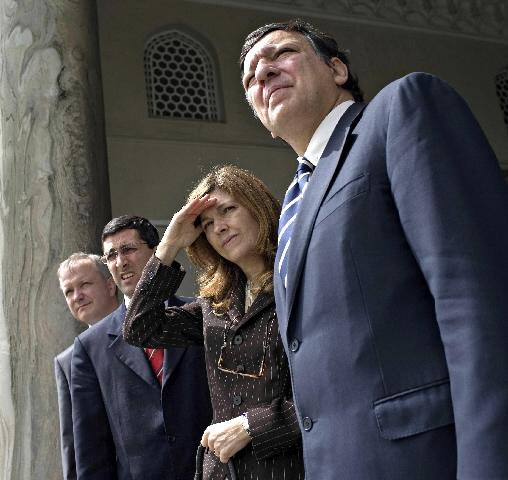 Visite de José Manuel Barroso, president de la CE, en Turquie