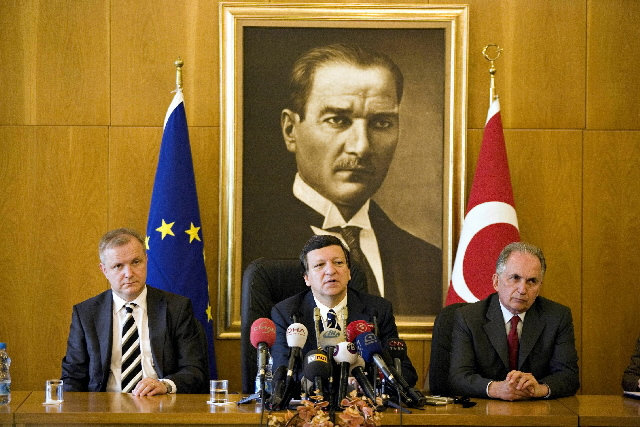 Visit by José Manuel Barroso, President of the EC, to Turkey