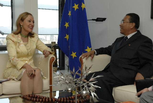 Visit by Pak Ui-chun, Minister for Foreign Affaires of the Democratic People's Republic of Korea, to the EC