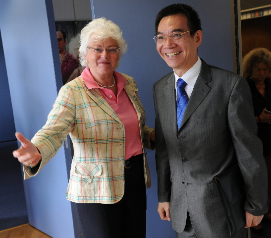 Visit by Justin Lin, Chief Economist and Senior Vice-President of the World Bank, to the EC