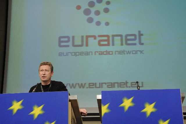 Launch of the new Internet platform of the network of the European radios Euranet: community on web