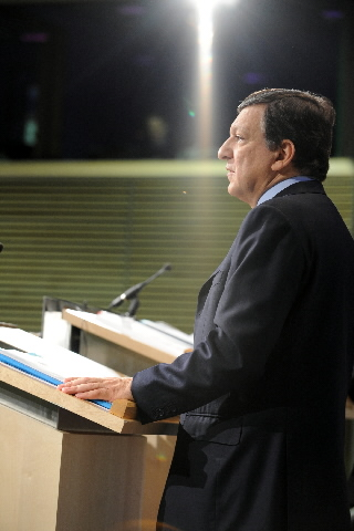 Press conference by José Manuel Barroso, President of the EC, on the climate-energy package