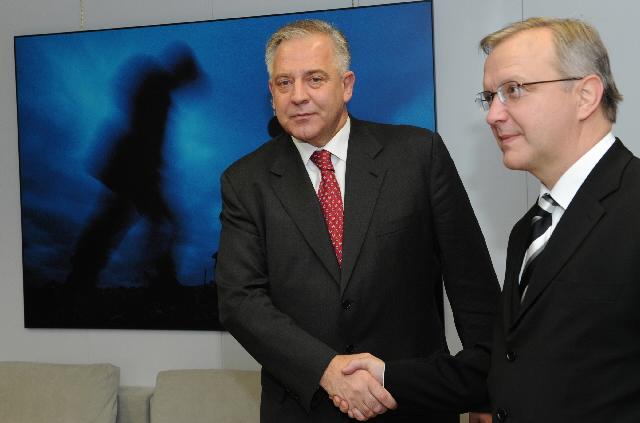 Visite d'Ivo Sanader, Premier ministre croate, à la CE