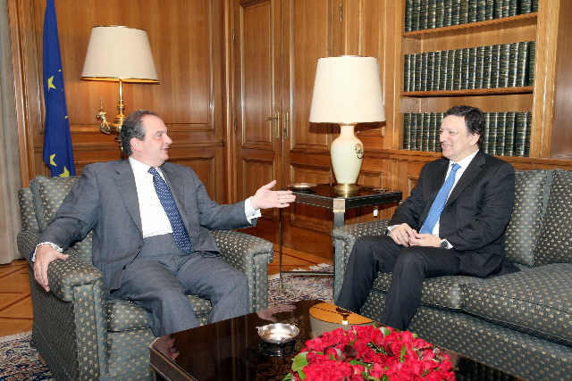 Visit of José Manuel Barroso, President of the EC, to Athens