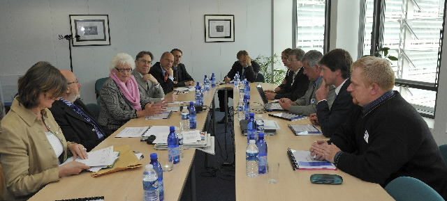 Visit of a delegation of representatives of the agricultural sector to the EC