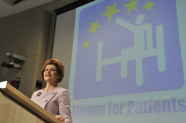 Press conference by Androulla Vassiliou, Member of the EC, on the fight against cancer