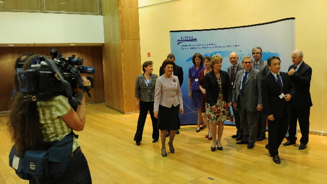 Ministerial meeting of the Global Health Security Initiative (GHSI) on the influenza A (H1N1)