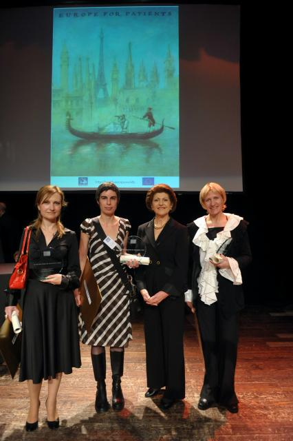 Award ceremony for the first EU health prize for journalists