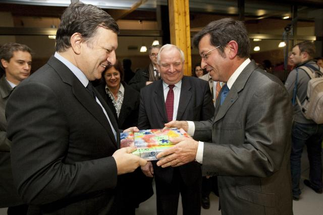 Visit of José Manuel Barroso, President of the EC, to the Sonnenhof Protestant Foundation