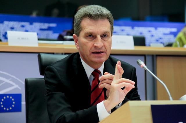 Hearing of Günther Oettinger, Member designate of the EC, at the EP
