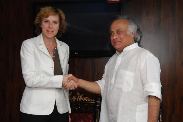 Visit of Connie Hedegaard, Member of the EC, to India