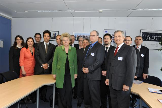Visit of CEO and Chief Security Officers from leading American high-tech companies, to the EC