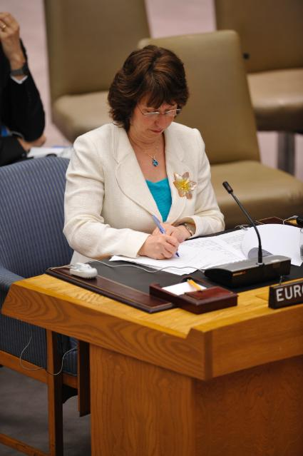 Visit of Catherine Ashton, High Representative of the Union for Foreign Affairs and Security Policy and Vice-President of the EC, to the United Nations
