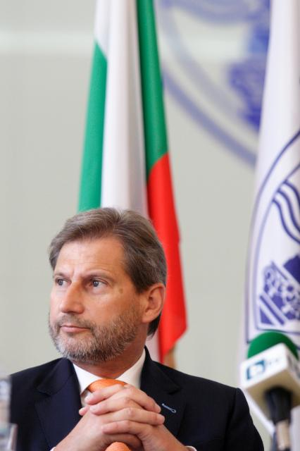 Participation of Johannes Hahn, Member of the EC, at the conference on the European Strategy for the Danube Region