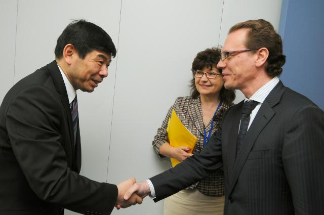 Visit of Kunio Mikuriya, Secretary General of the World Customs Organization (WCO), to the EC