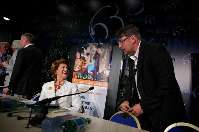 Participation of Androulla Vassiliou, Member of the EC, at the 63rd Cannes International Film Festival