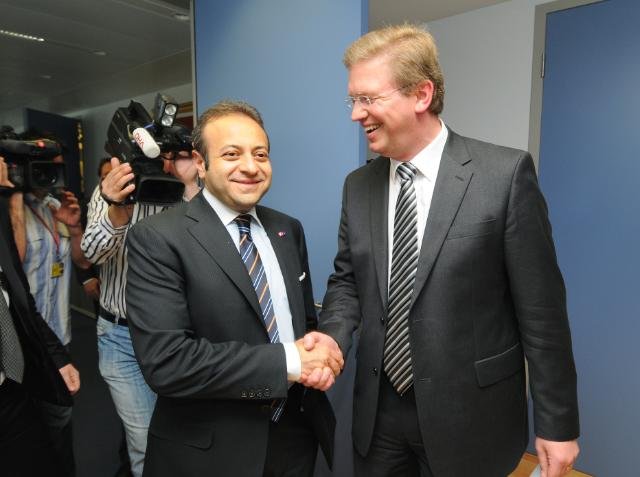 Visit of Egemen Bağış, Turkish Minister for EU Affairs and Chief Negotiator for Turkey's accession negotiations with the EU, to the EC
