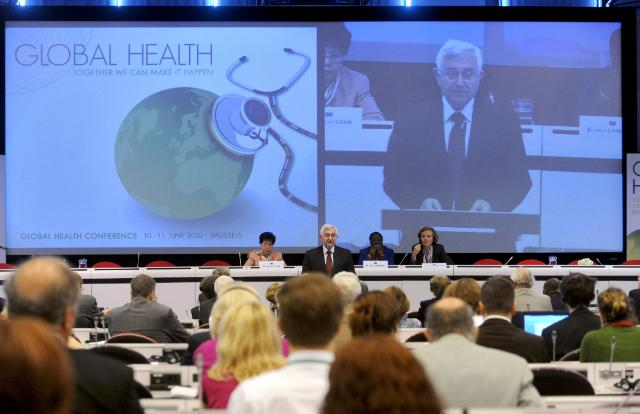 Participation of John Dalli, Member of the EC, in the conference Global Health: Together we can make it happen
