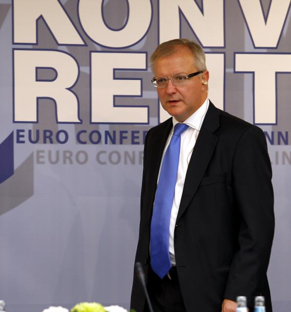 Participation of Olli Rehn, Member of the EC, at the Euro Conference Tallinn 2010, dedicated to cash changeovers in Estonia, and the Euro exhibition