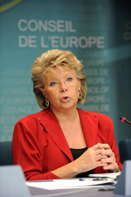 Participation of Viviane Reding, Vice-President of the EC, at the conference The imperative of Roma integration: More than just a summer story