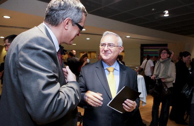 Cérémonie de remise du prix européen 2010 du journalisme dans le domaine de la santé