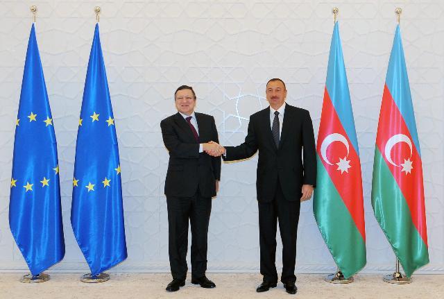 Visit of José Manuel Barroso, President of the EC, to Azerbaijan