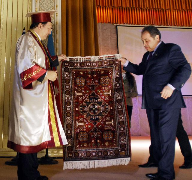 Visit of José Manuel Barroso, President of the EC, to Azerbaijan