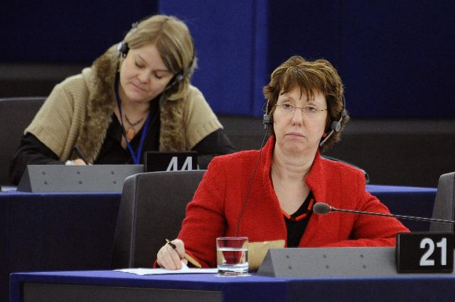 Statement by Catherine Ashton, Vice-President of the EC, on situation of Christians