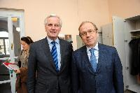 Visit of Michel Barnier, Member of the EC, to Finland