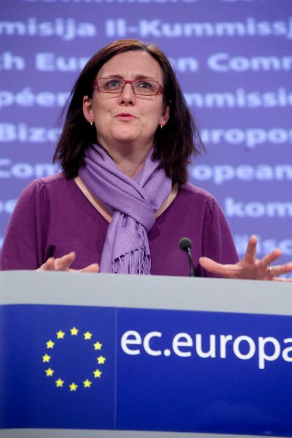 Press conference by Cecilia Malmström, Member of the EC, on her trip to Egypt