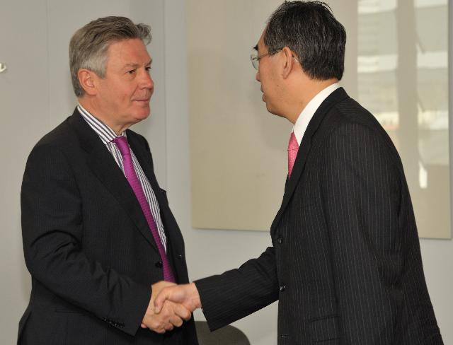 Visit of Takeaki Matsumoto, Japanese Minister for Foreign Affairs, to the EC