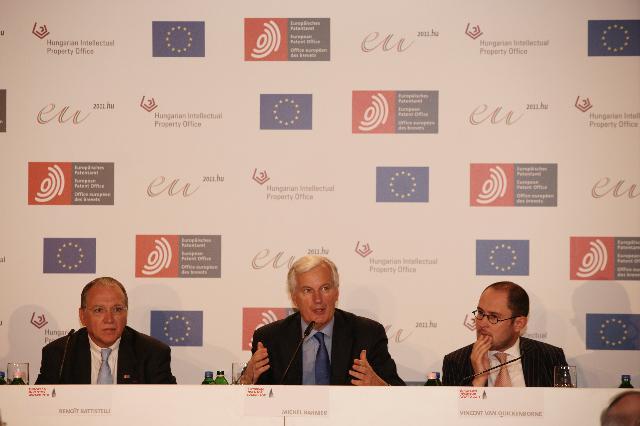 Presentation of the European Inventor Award 2011