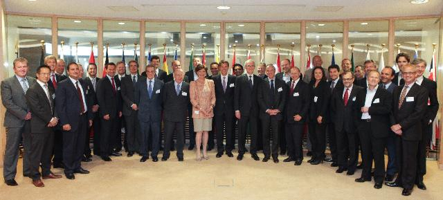 Visit of several CEOs from the Information and Communications Technology (ICT) sector to the EC