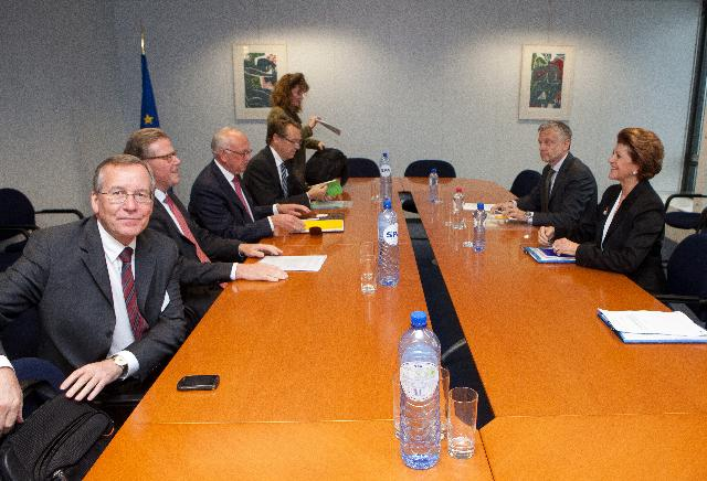 Visit of a delegation of the ERT to the EC