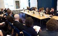 Participation de Connie Hedegaard, membre de la CE, au lancement de la plate-forme européenne d'adaptation au changement climatique