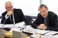 Participation of Janez Potočnik and Algirdas Šemeta, Members of the EC, at the first meeting of the European Resource Efficiency Platform