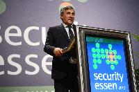 Participation of Antonio Tajani, Vice-President of the EC, at the Security Research Event 2012