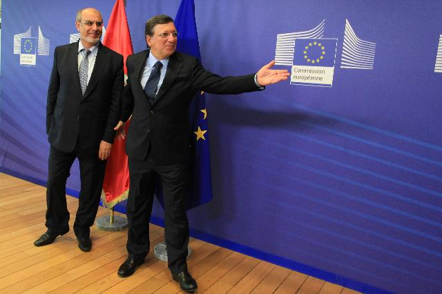 Visit of Hamadi Jebali, Tunisian Prime Minister, to the EC