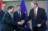 Signing of two financing agreements between the EC and Tunisia