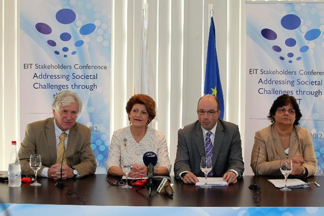 Participation of Androulla Vassiliou, Member of the EC, at the EIT Stakeholders Conference