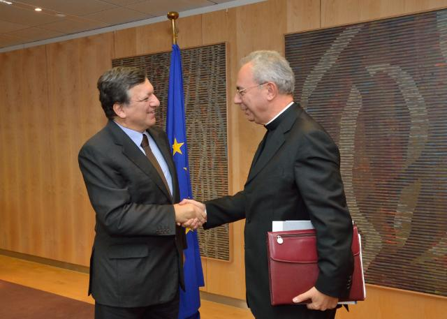 Visit of Dominique Mamberti, Secretary for Relations with States of the Vatican, to the EC