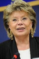 Joint press conference by Viviane Reding, Vice-President of the EC, Ádám Kósa and Werner Kuhn, Members of the EP, on the European Disability Strategy