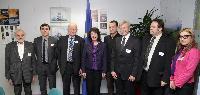 Visite à la CE d'une délégation de l'Association lituanienne des transformateurs et producteurs de poissons, dirigée par Juozas Imbrasas, membre du PE