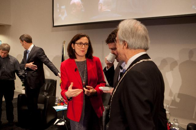 Inauguration of the European Cybercrime Centre - EC3, with the participation of Cecilia Malmström, Member of the EC
